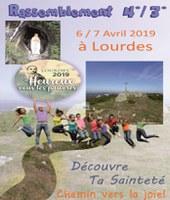 Pèlerinage des 3èm 4àm à Lourdes