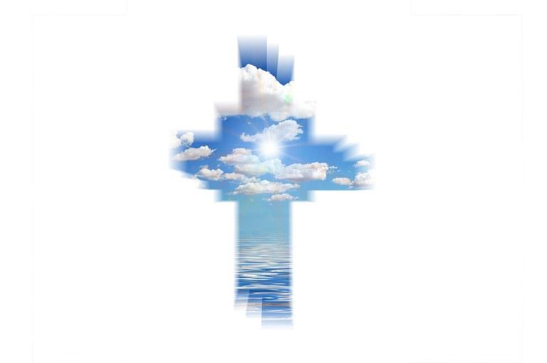 funérailles ciel croix